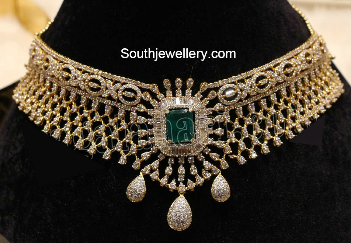 manepally diamond necklace
