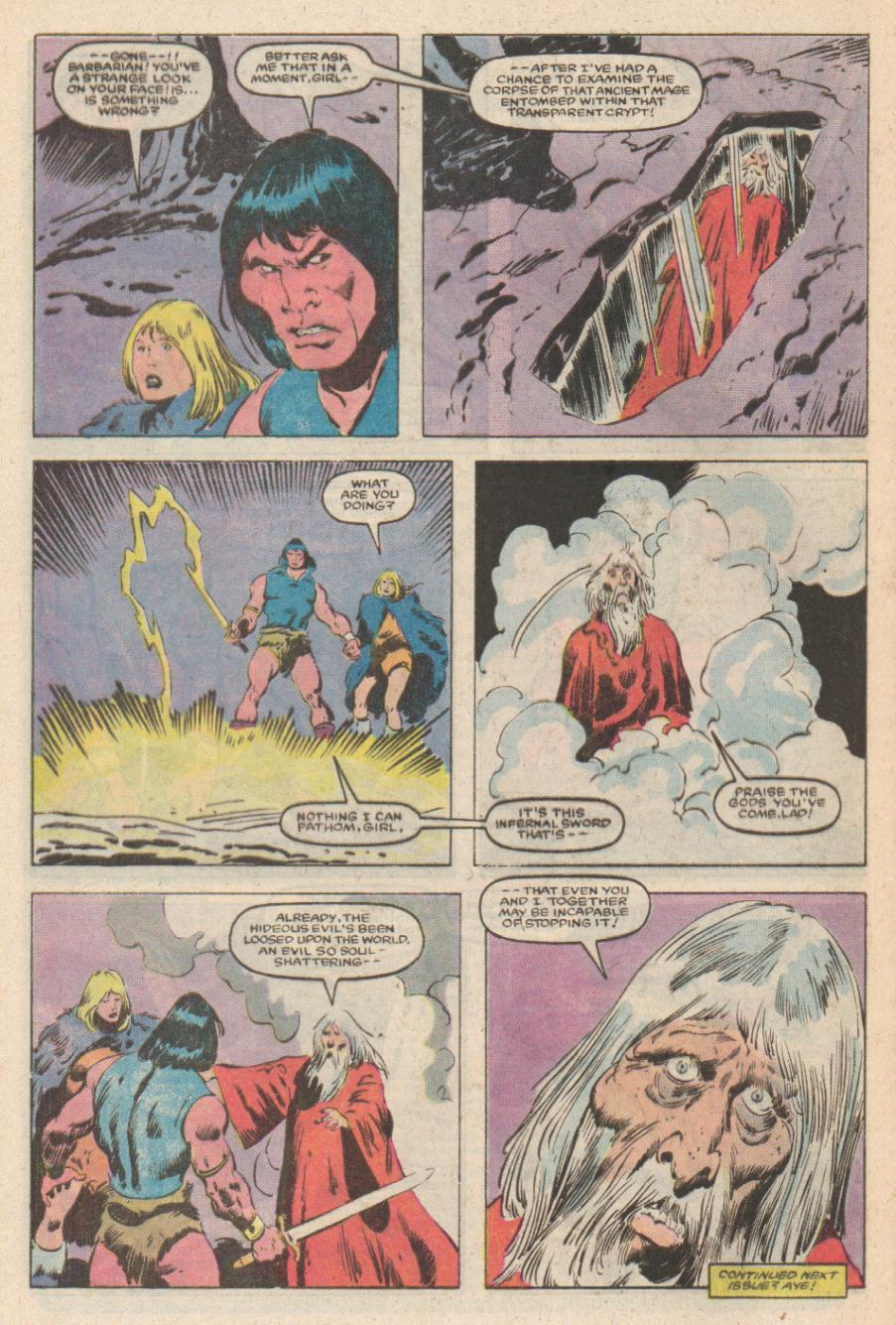 Conan the Barbarian (1970) Issue #169 #181 - English 23