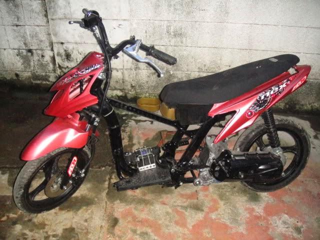 Modifikasi Motor Suzuki Nex Drag