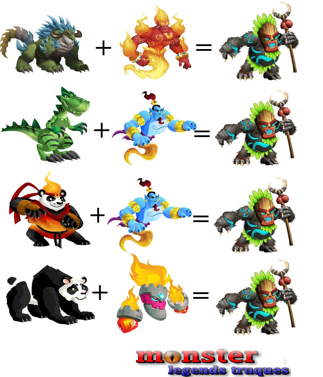posts to monster legends get pandalf by breeding monster legends