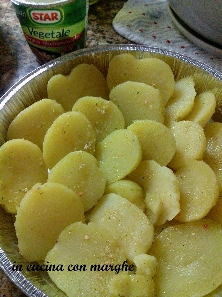 Patate farcite gratinate al forno
