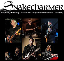 Snakecharmer nueva superbanda con Moody, Murray, Wakeman, Wisefield, Ousey y James