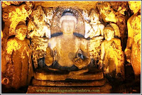 Gautam Buddha - Ajanta Caves - Cave Number four