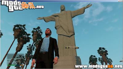 V - Cristo Redentor para GTA V PC