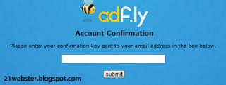 Cara mendapat uang dari adf.ly