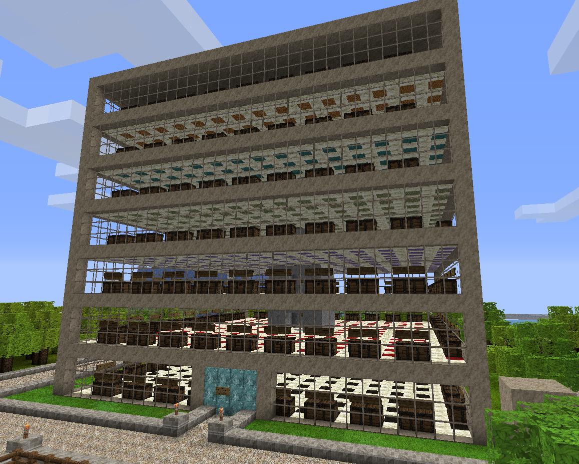 Minecraft server bobi juli 2011