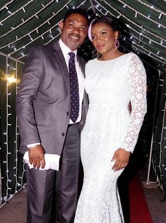 omotola jalade wedding photos