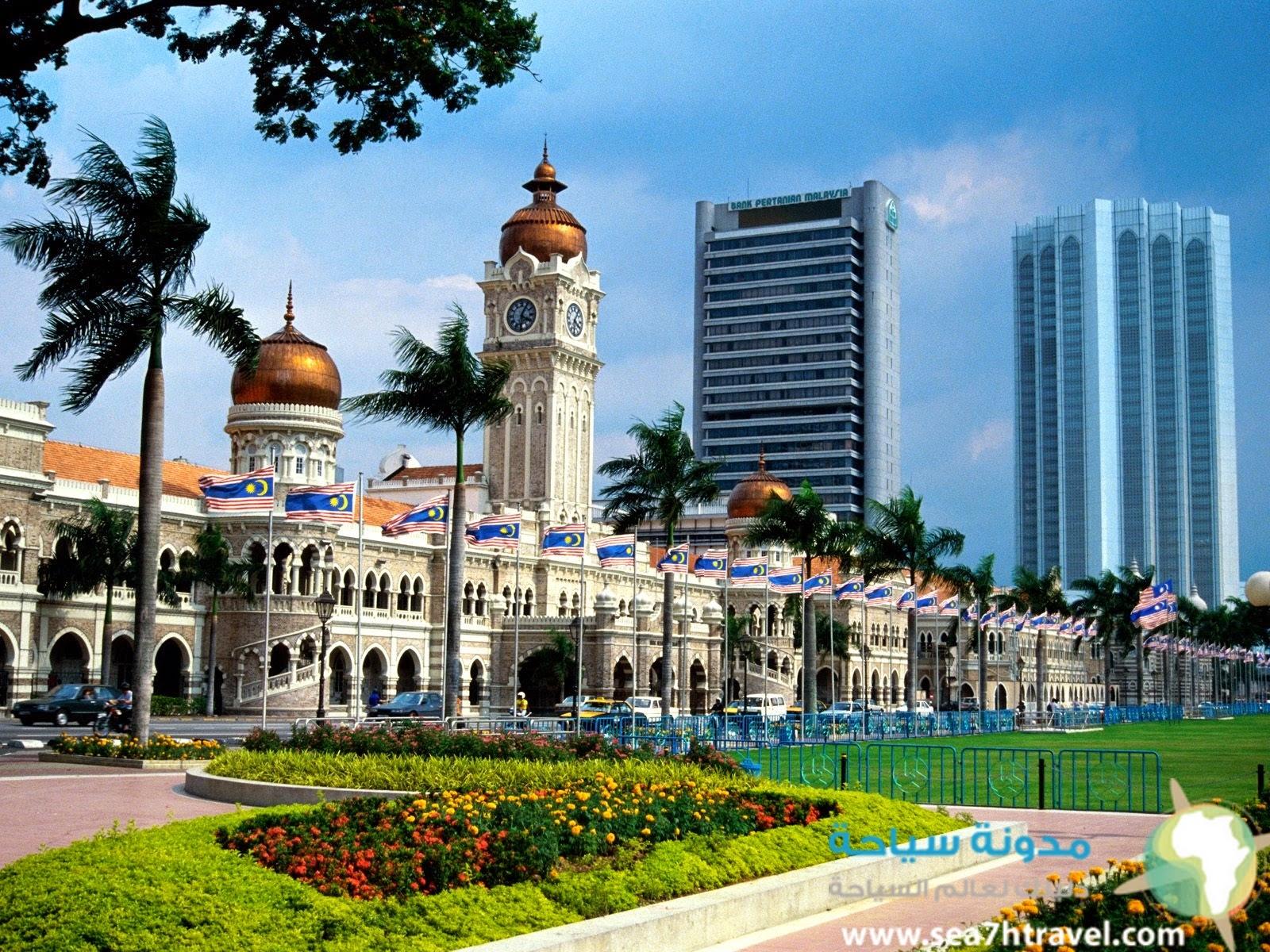 مبنى سلطان عبد الصمد الشهير