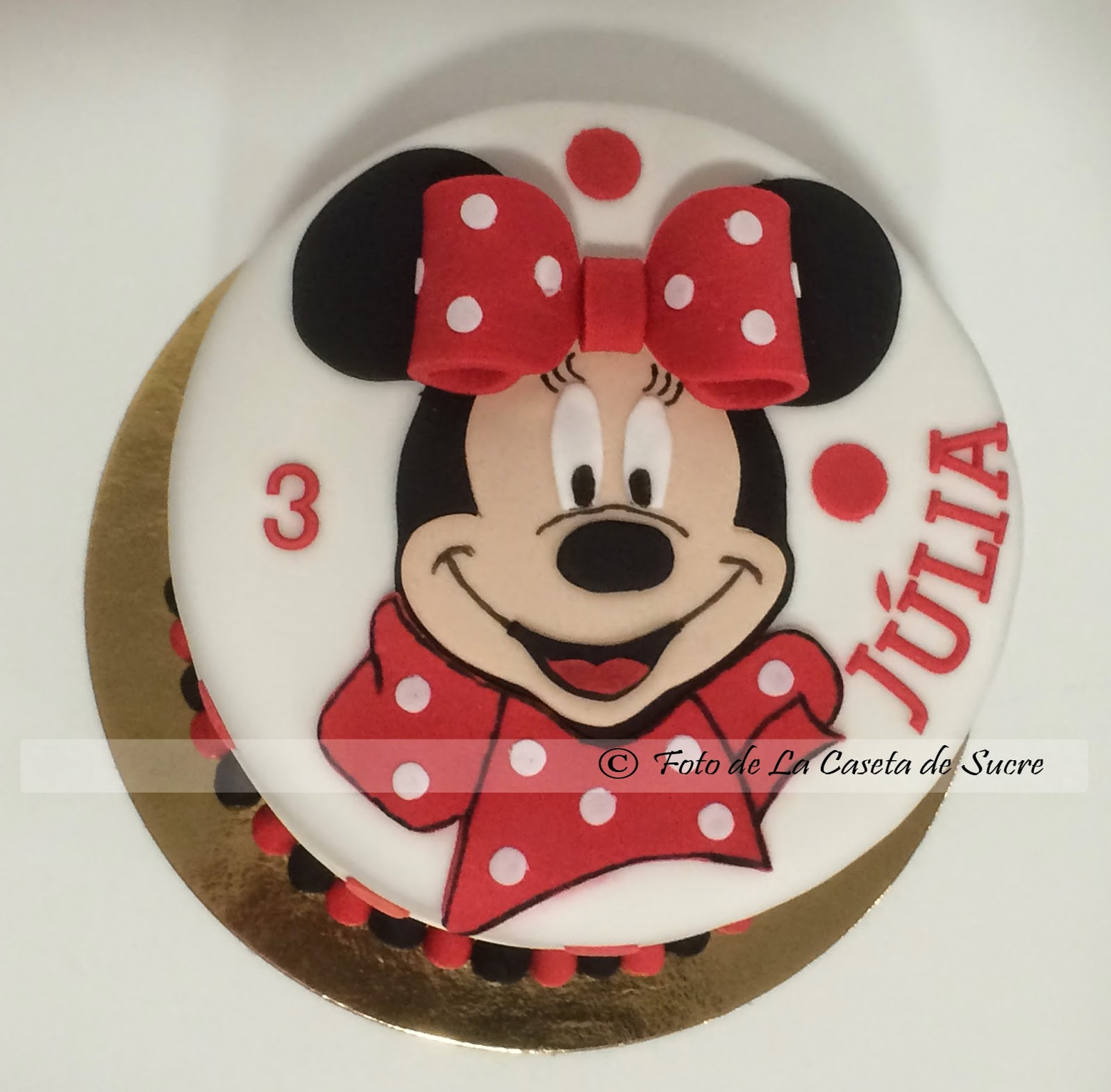 tarta minnie 2