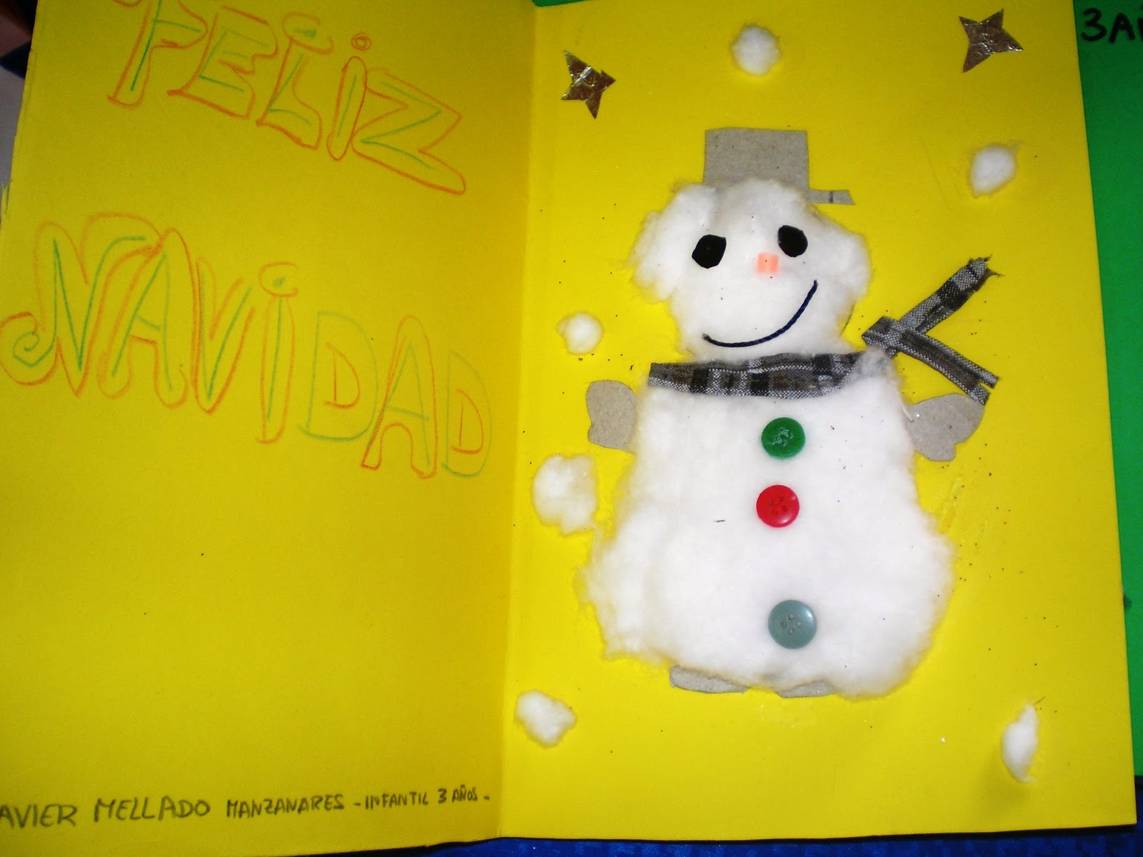Maestra de Infantil: Tarjetas de Navidad hechas por niños