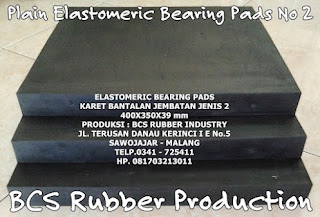 "excellence Elastomeric Bearing Pads "" Keunggulan Elastomer Bearing Pads"
