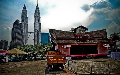 foto gambar Kampung Baru, Kuala Lumpur malaysia