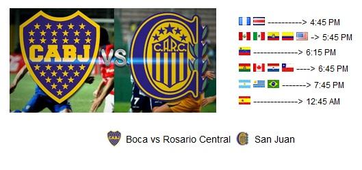 Boca vs Rosario en vivo Miércoles 30 de Mayo 2012 online Cuartos de ...