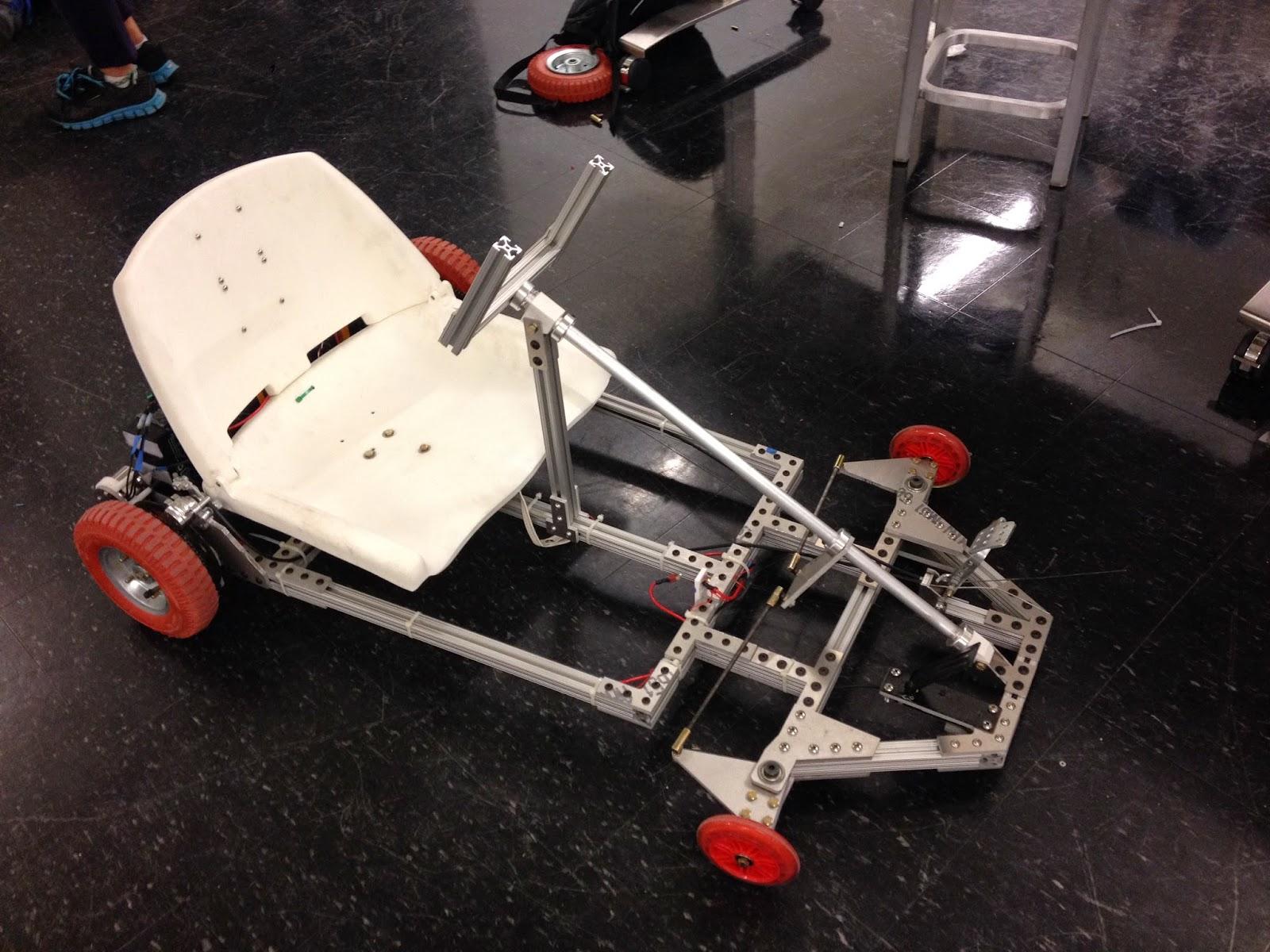 Building An Electric Go-Kart: Finished Go-Kart