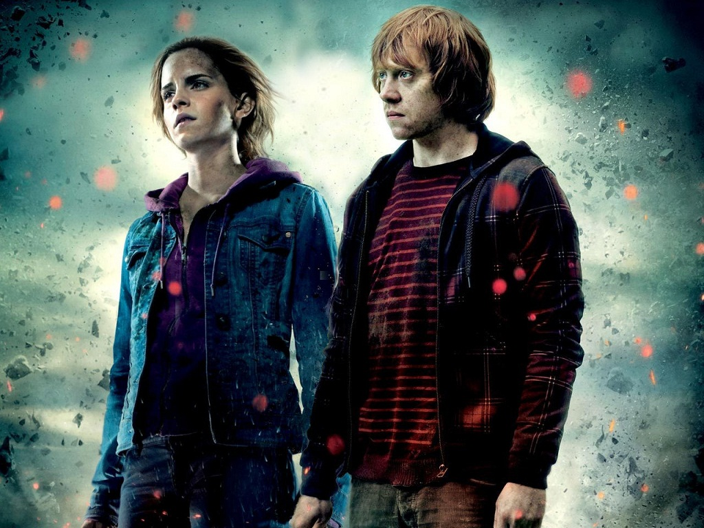 J and j productions top 25 fictional couples part 1 - Harry potter hermione granger ron weasley ...