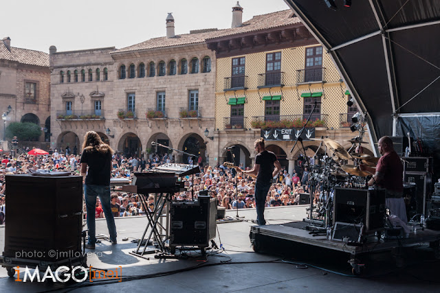 Riverside @ Be Prog! My Friend, Poble Espanyol 11-07-2015
