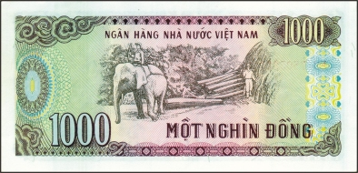 1000 dong, 1000 VND