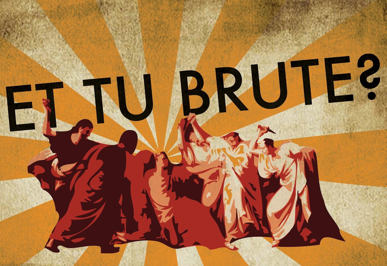 the role of marcus brutus in the assassination of julius caesar Octavius caesar: one of the triumvirs who rule following the death of julius  caesar,  and powerful senator, marcus brutus is a close friend of julius caesar.