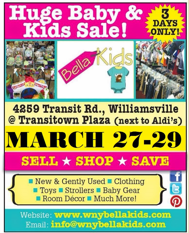 Bella Kids WNY 2015 Spring Consignment Sale