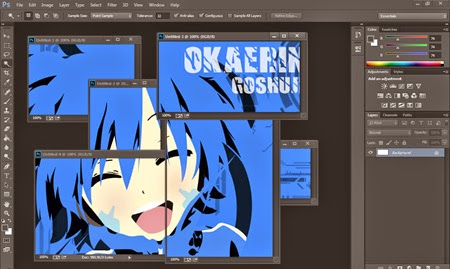 Membuat Clipping Mask Di Photoshop