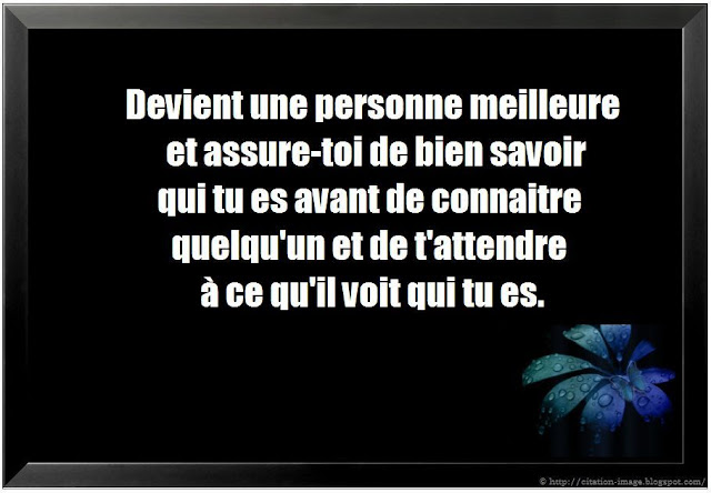 Citation vie en photo