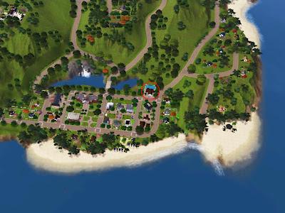 galaad island sims 3