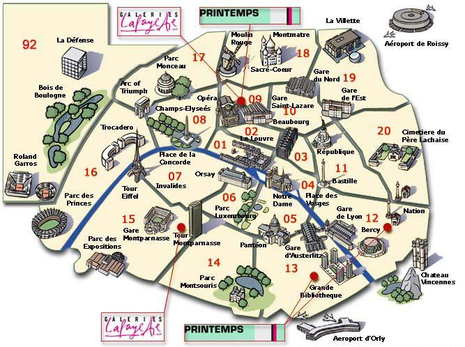 Mr And Mrs In PARIS Paris Peddling And Peonies - Map of paris bastille