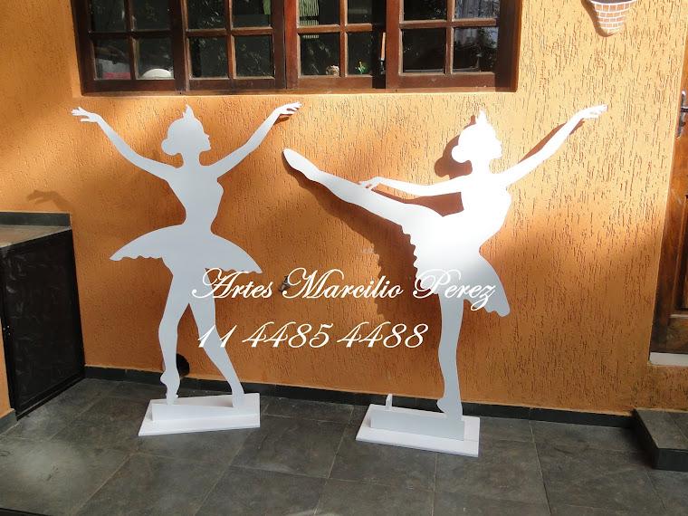 Bailarinas para decoração R$ 170,00 cada 140 Altura