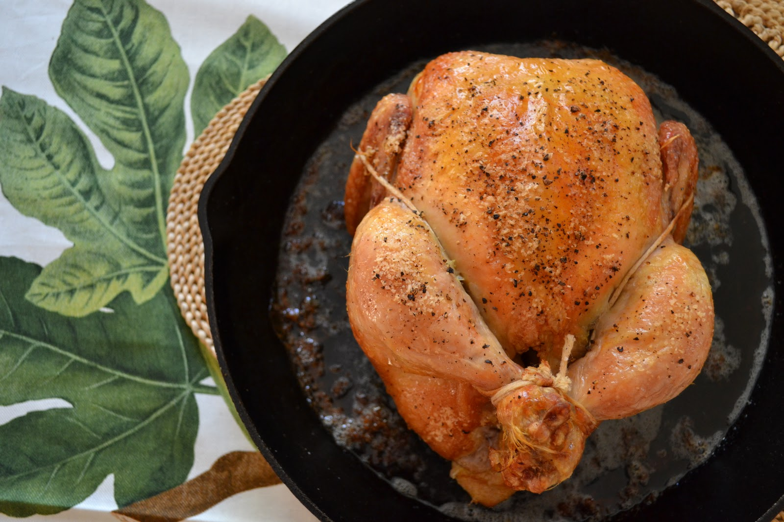 ... Thomas Keller's Bouchon : his favorite simple roast chicken. Seriously