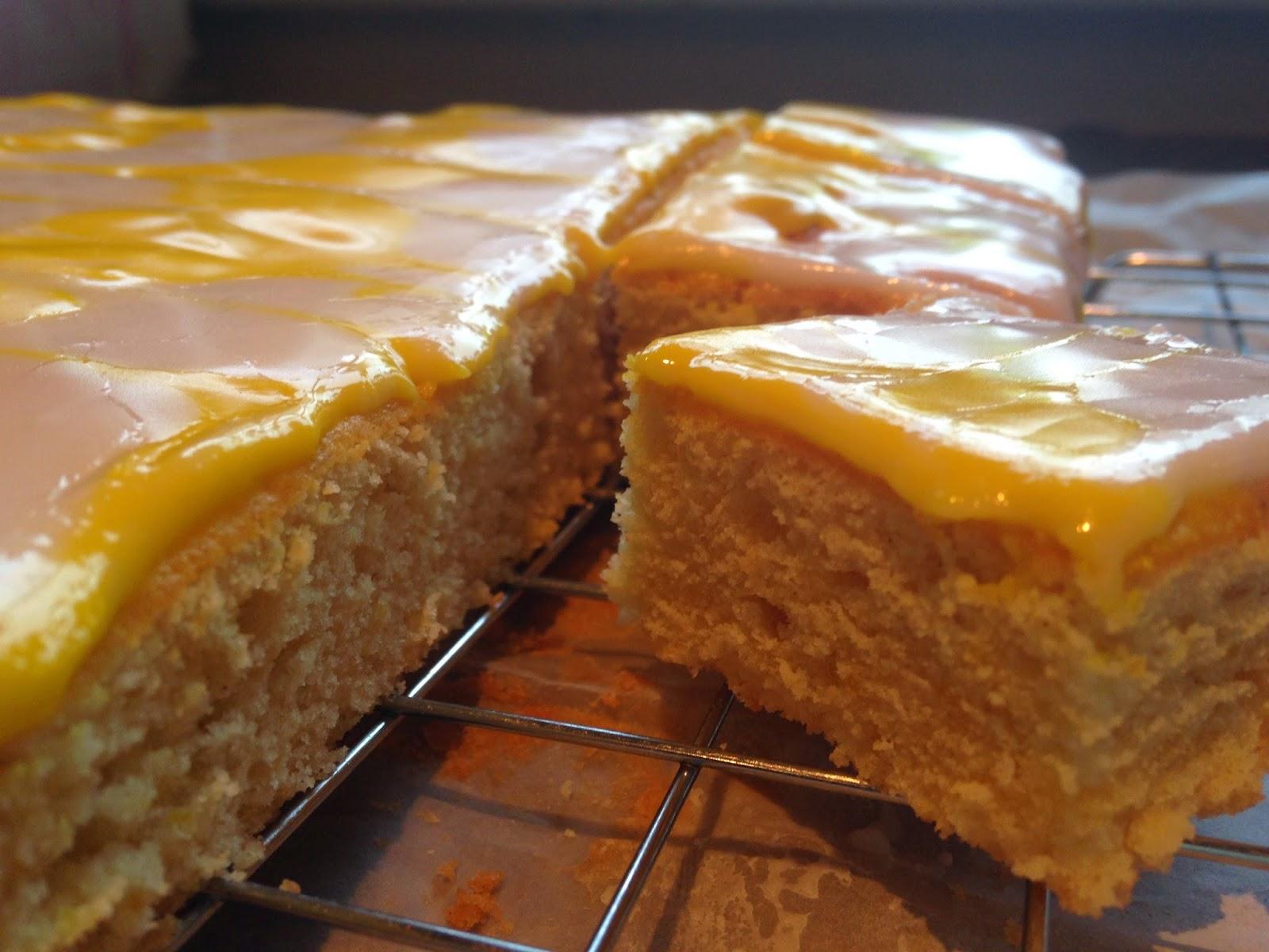 Language matters & lemon cake