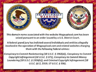 Megaupload Has Been Purge by FBI and Department of Justice