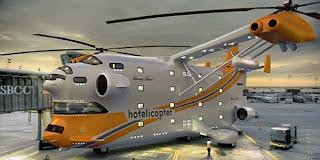 طائره فندق طائر ,أكبر طائرة هليكوبتر في العالم