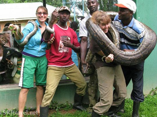 Healthy Python Uganda