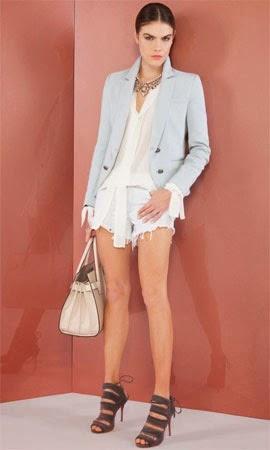 Bo.Bô coleção feminina verão 2015 blazer camisa short e acessórios