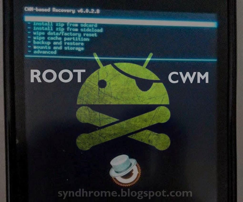 Root dan Install CWM/TWRP Smartfren Andromax C2 Kitkat Terbaru!
