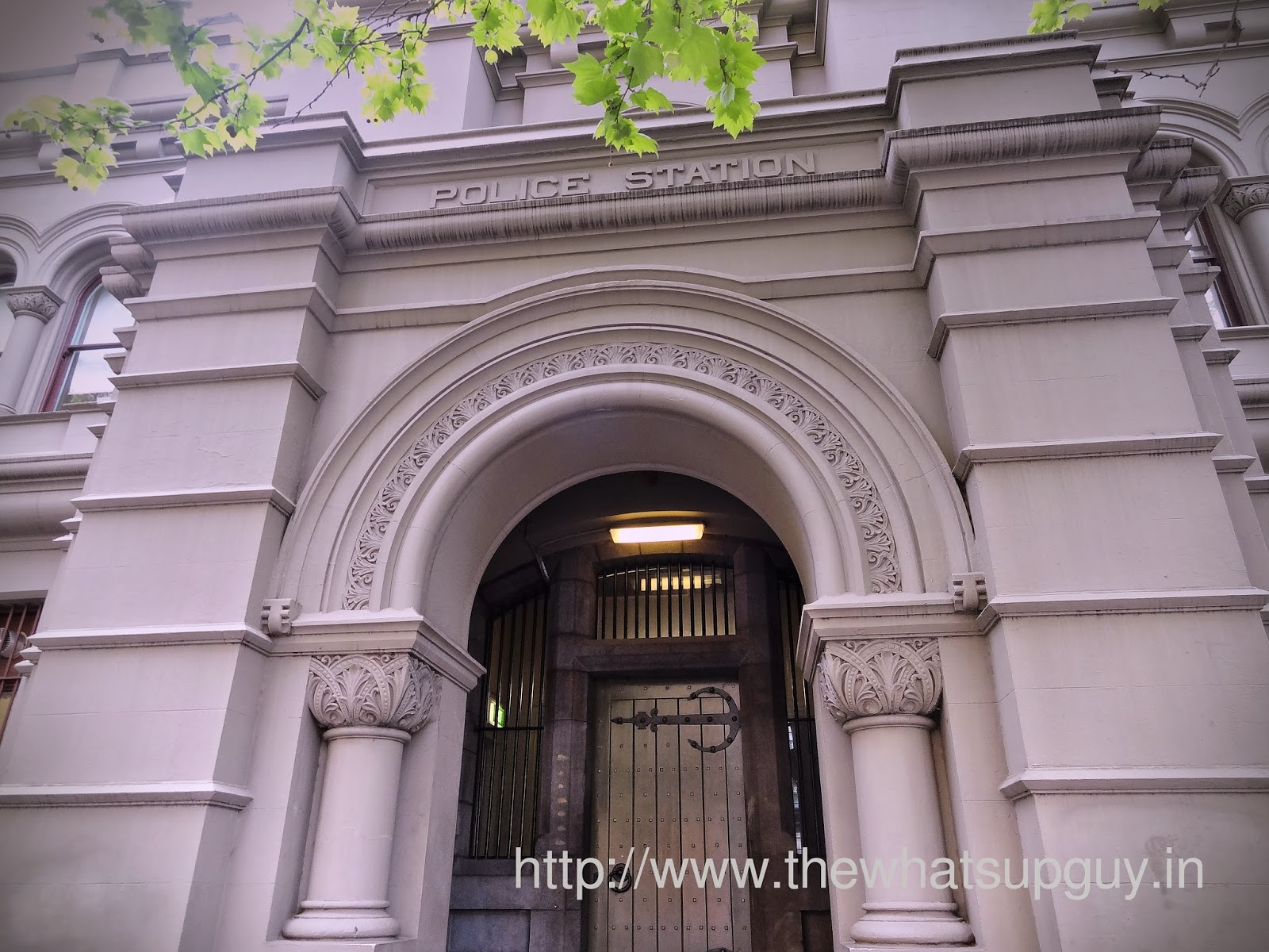 Old Melbourne Gaol Door