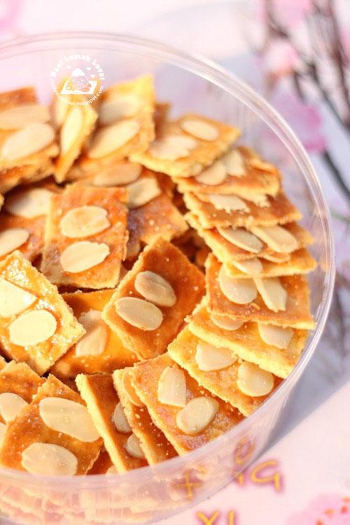 Almond Cookies Resep Crispy Almond Butter Cookies