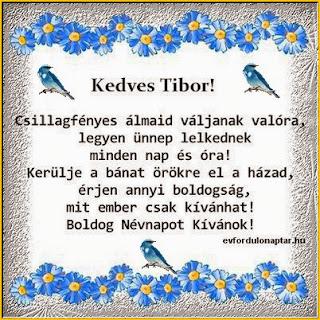 Április 14 - Tibor