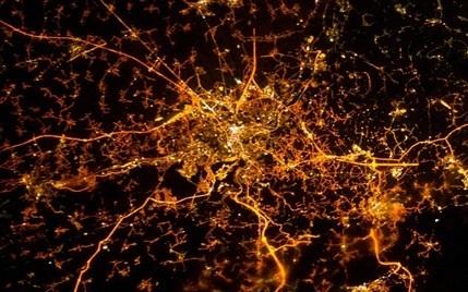 ciudad lieja desde el espacio