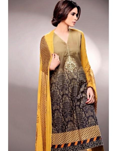 Nishat Linen Eid Collection 2014-2015