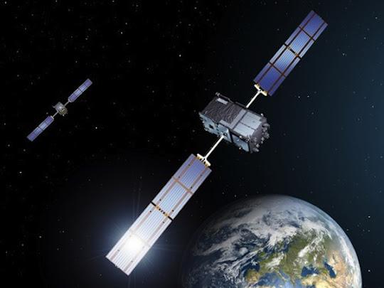 navegação por satélites