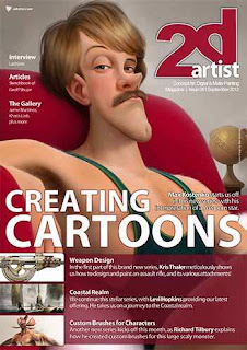 2DArtist Magazine Issue 081 September 2012