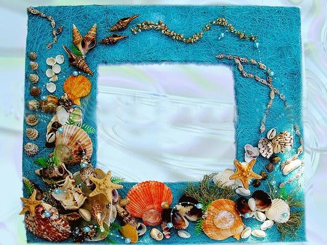 Рамки для фото на морскую тему своими руками 40