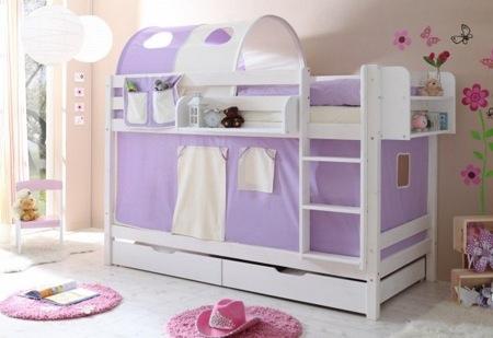 Decorar la habitaci n de los ni osblog de moda infantil - Caballeros y princesas literas ...