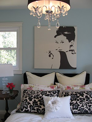 gallery for audrey hepburn inspired room
