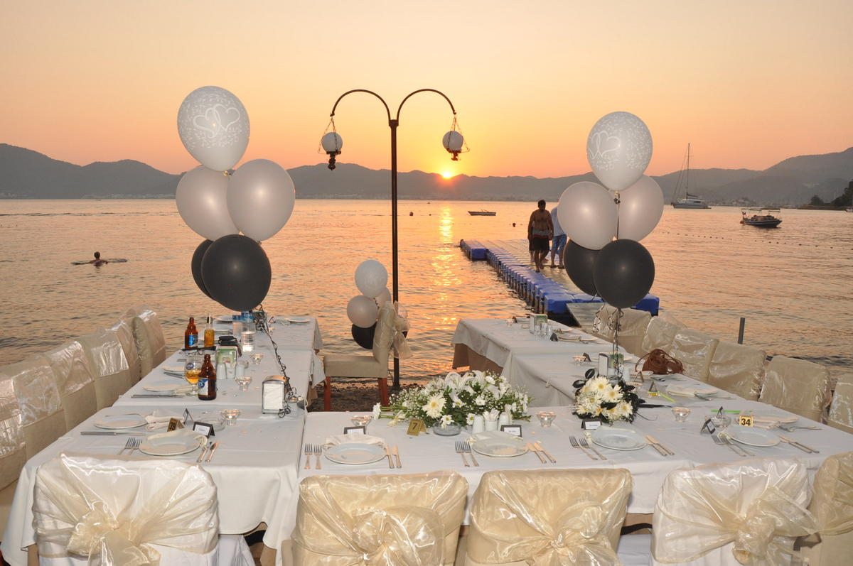 Destination Wedding Blog New Beach Restaurant Wedding Venue Near Marmaris Turkey