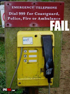 emergency telephone fail