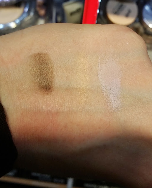 forever matte eye shadow cream Swatch