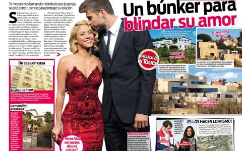Shakira myshakiblog shakira y piqu se construyen una for Noticias dela farandula argentina