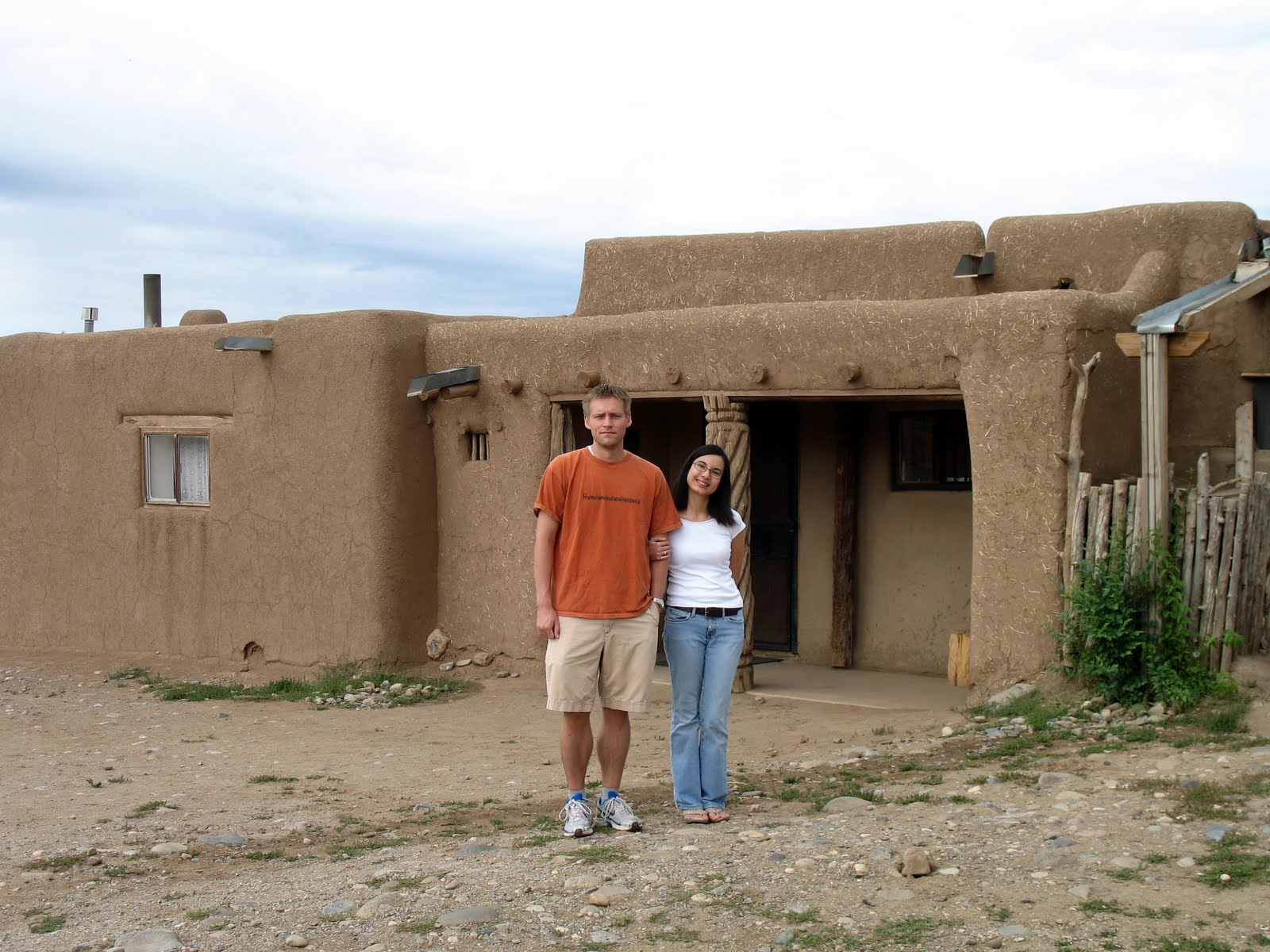 High times in the high desert taos for Adobe home builders
